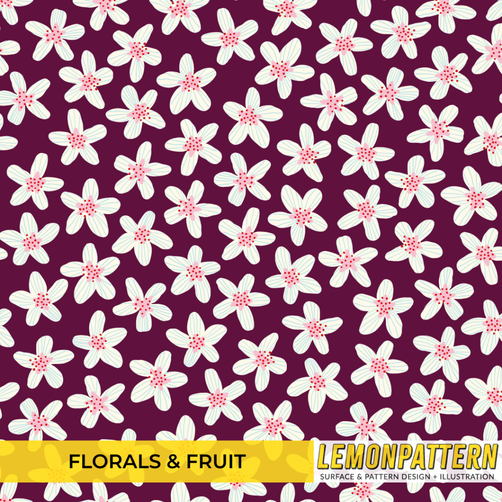 florals & fruit